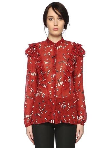 Que Gömlek Kırmızı
